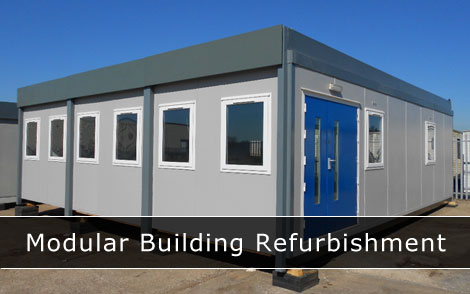 Modular building refurbishment